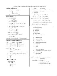 equation sheets leechemistryatbomanor advanced placement chemistry