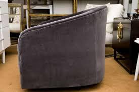 mid century modern mid century swivel tub chair pair for