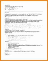 5 Truck Driving Resume Graphic Resume