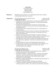 landscape design resume resume innovations design resume examples pdf beginer easy landscape design resume