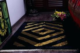 black and gold area rug black and gold rugs image of gold and black rug stripes