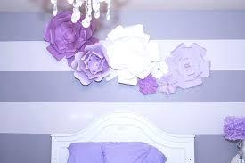 purple flower wall art purple flower wall decor tutorial large