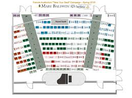 Take Your Seat Francis Auditorium Seating Chart Tiers
