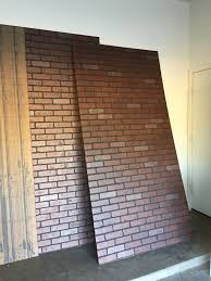 decorative wall paneling designs lovely faux brick interior wall home depot interior design