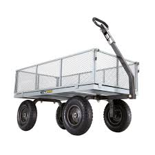 heavy duty steel utility cart