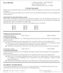 It Project Manager Resume Sample – Letsdeliver.co