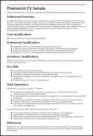 Pharmacist Resume Objective Sample Example Of Pharmacist Resume Examples of Resumes 54