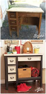 furniture repurposed. old desk makeover with voice of color furniturerepurposed furniture repurposed