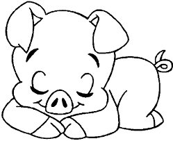 Small Picture Pig cute pig 141 coloring pages
