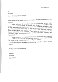 letter of appreciation ken boon bms organic thirdly i would like to give thanks to my company colleague that constantly take me out to experience the business world her understanding the b2b