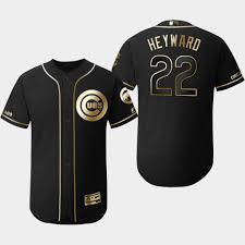 Edition Base Jersey Flex Golden Jason Cubs 2019 Heyward Men's Black