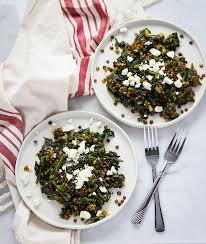 lentils with spinach recipe