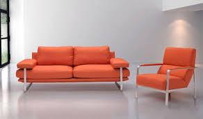 Orange Living Room Sets Jonkoping Living Room Set In Orange By Zuo Getfurniture