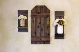 rustic barn door mini barn door wood shutters rustic wall with regard to rustic shutter wall