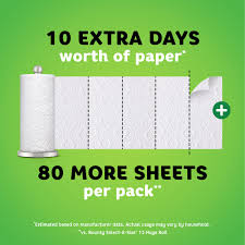 Bounty Roll Size Chart Bounty Quick Size Paper Towels White 12 Family Rolls