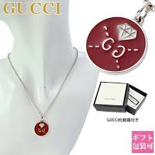 correspondence gucci necklace men gucci lady s men pendant ghost ghost red white silver 459358 j89l0 8519 regular article shin pull brand new article