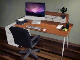 Make Your Own Computer Desk How To Organize Your Desk 13 Steps With Pictures Wikihow