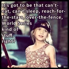 Can't eat can't sleep World Series kinda stuff! | Cutie pie ... via Relatably.com