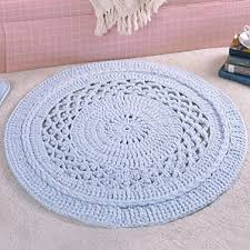 free crochet half circle rug pattern dan for