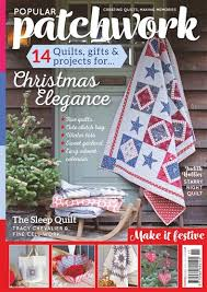 Popular Patchwork Magazine - November 2017 Subscriptions | Pocketmags & Title Cover Preview Popular Patchwork Magazine Preview Adamdwight.com