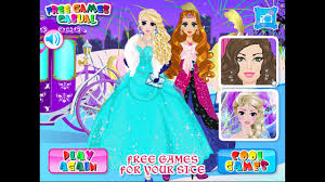 fun ice princess makeover elsa and anna care game ice princess fun s makeup dress up games