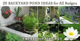 Cool backyard pond design ideas for you who likes nature Koi Fish Backyard Boss 20 Beautiful Backyard Pond Ideas For All Budgets Empress Of Dirt