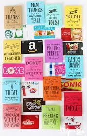 teacher gift card printable holders 25 handmade gift ideas for teacher appreciation the perfect