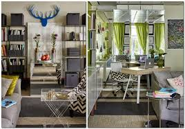 pretty mirrored furniture design ideas. 1-3-bright-cheerful-white-gray-and-green- Pretty Mirrored Furniture Design Ideas S