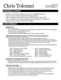 Instructional Design Resume Instructional Design Resumes Instructional Design Resume Keywords