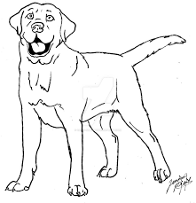 Small Picture Labrador Coloring Page By Canis Best Of Labrador Coloring Pages