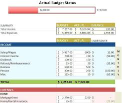Sample Budget Worksheet Template Spreadsheet – Therunapp