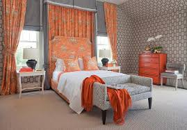 gray and orange bedroom. captivating orange and gray bedroom design contemporary l