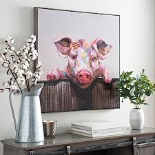 tremendous pig wall art interior decor home framed canvas print kirklands items head hunting butcher sign on pig canvas wall art with pig wall art www fitful fo