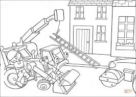 Small Picture Lofty And Scoop Help Bob To Move The Ladder coloring page Free