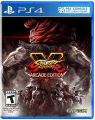 street fighter v arcade edition for playstation 4 gamestop