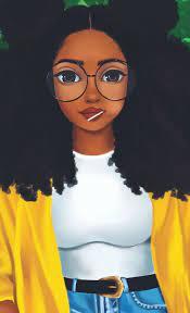 Black girl art, Drawings of black girls ...