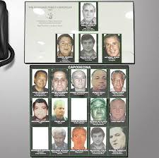 The Bonanno Family Hierarchy 1991 Black Hand Mafia Charts
