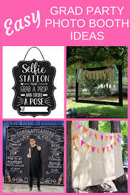 easy grad party photo booth ideas find super simple ways to diy your own