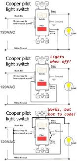 changing a single pole light switch with a switch and pilot light 2 Pole Light Switch Wiring Diagram 2 Pole Light Switch Wiring Diagram #71 Two Pole Switch Wiring