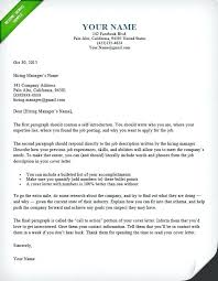 Sample Resume Cover Letter Template Dandy Examples Of A Resume Cover