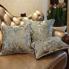 luxurious flocking velvet pillow cover decorative cushion cover