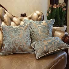luxurious flocking velvet pillow cover decorative cushion cover
