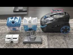 <b>Пылесос</b> моющий <b>Thomas DryBOX</b> Amfibia черный/голубой ...