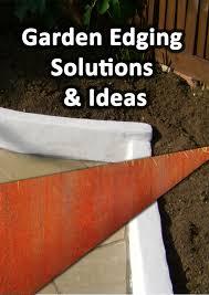 garden edging solutions ideas a