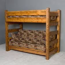 loft over futon. outstanding timberwood barnwood twin over futon bunk bed viking industries intended for wooden with popular loft