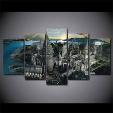 castle wall canvas