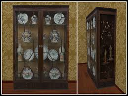 Second Life Marketplace Re Asian China Cabinet Home Decoration