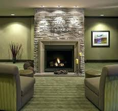 living room design ideas stone wall of fireplace for rock decor interior