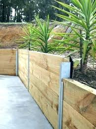 backyard retaining walls ideas wooden garden retaining wall retaining wall retaining garden wall ideas awesome