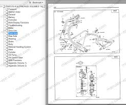 toyota forklift series workshop service manual repair manual technical information